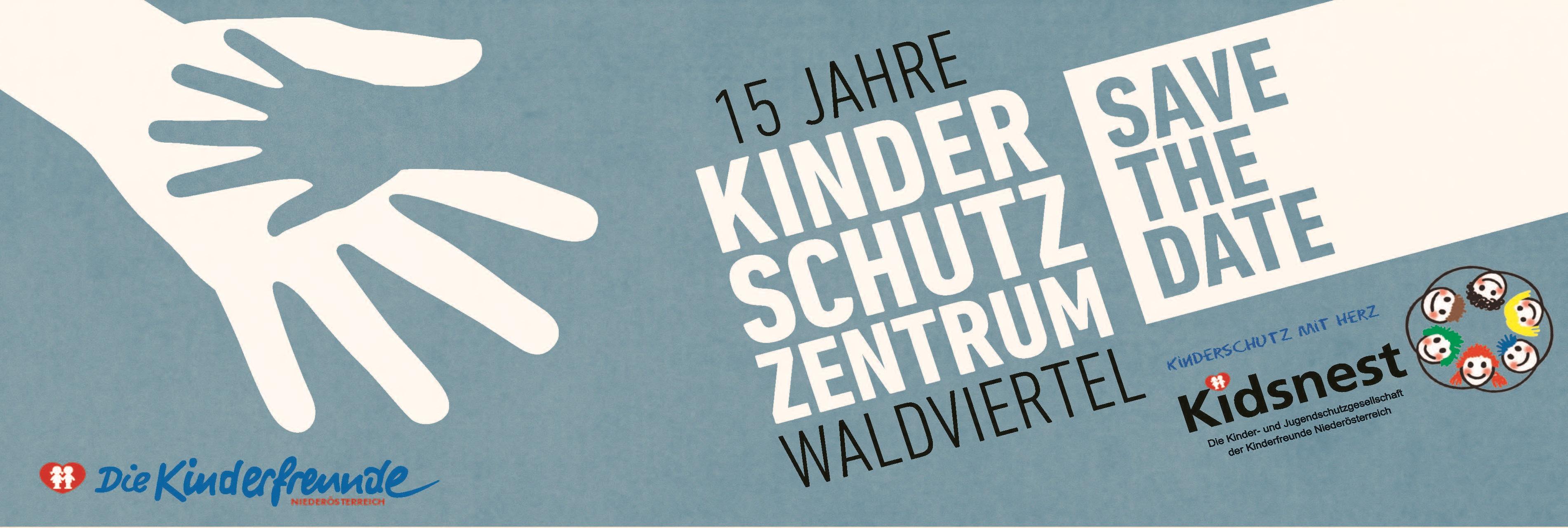 15 Jahre Kinderschutz-Save the date